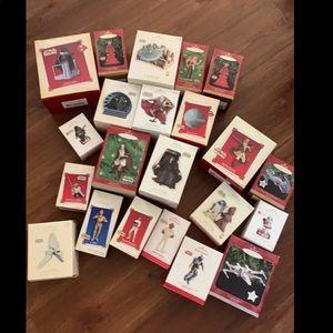 Star Wars Hallmark Xmas collectible ornaments